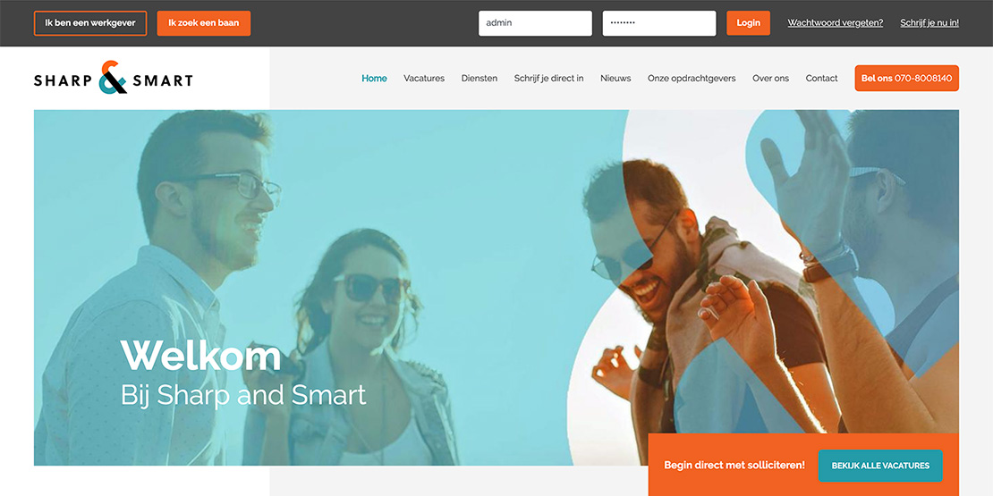 Nieuwe branding Sharp and Smart: More than a Match
